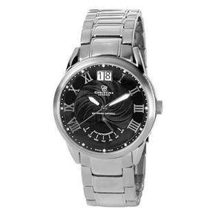 Christina Watches herreur med 12 diamanter,  510SBL